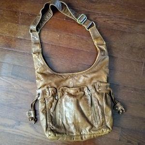 Bueno Leather Shoulder Bag